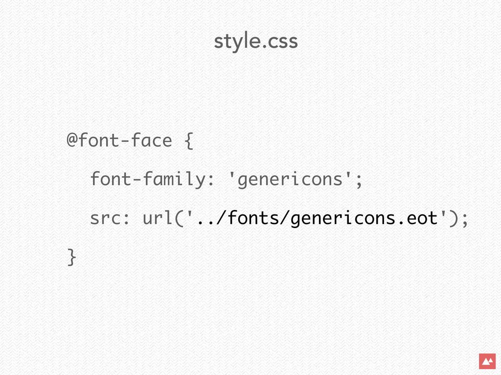 @font-face { font-family: 'genericons'; src: ur...