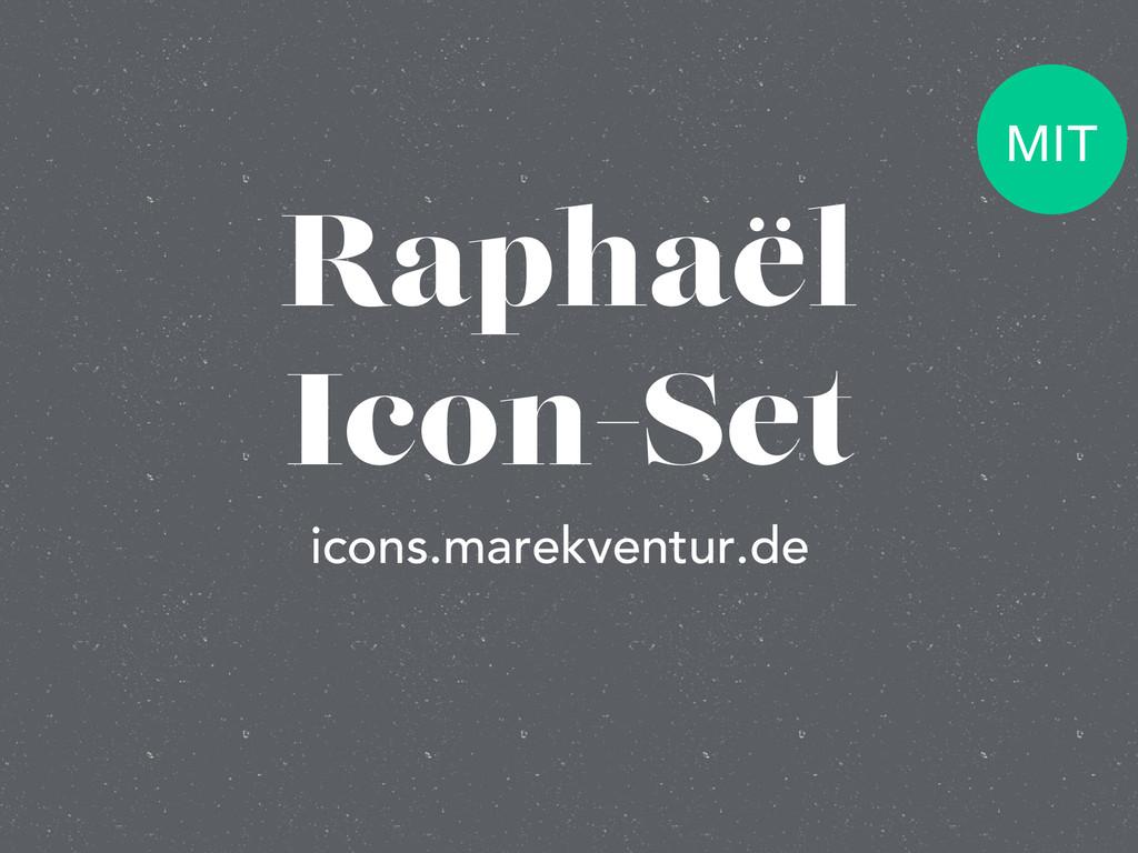 Raphaël Icon-Set icons.marekventur.de MIT