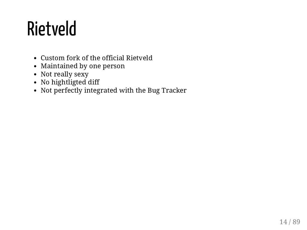 Rietveld Custom fork of the official Rietveld M...