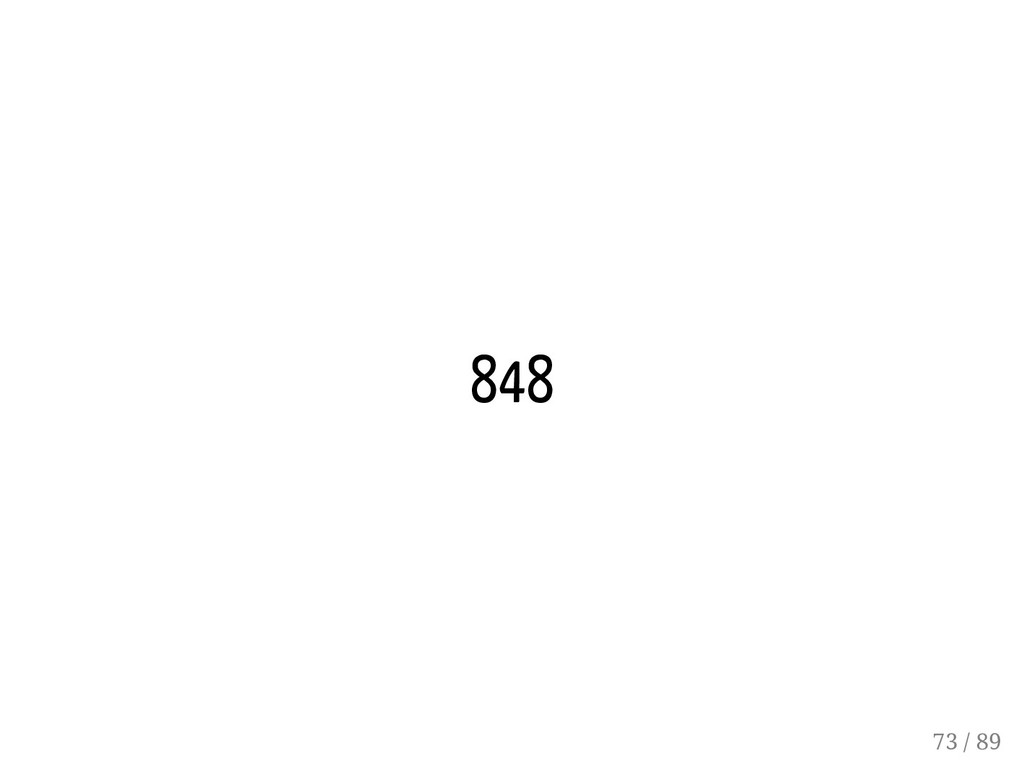 848 73 / 89