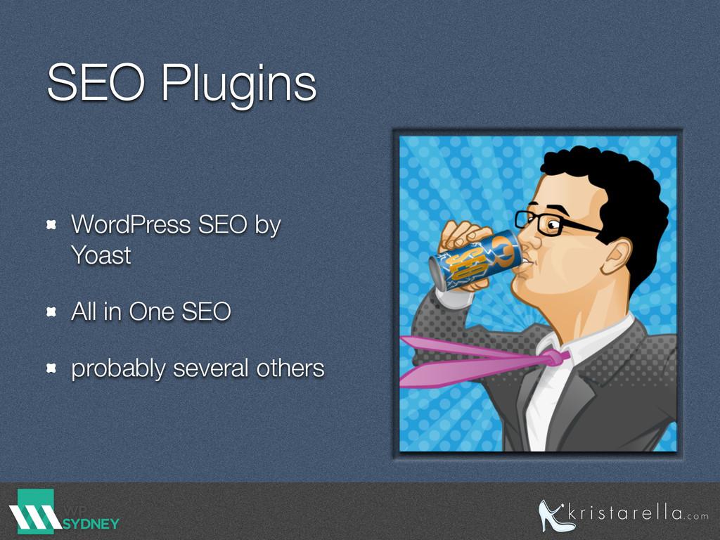 SEO Plugins WordPress SEO by Yoast All in One S...