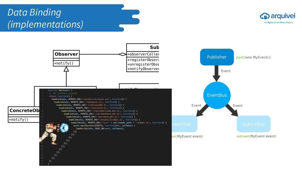 Data Binding (implementations)