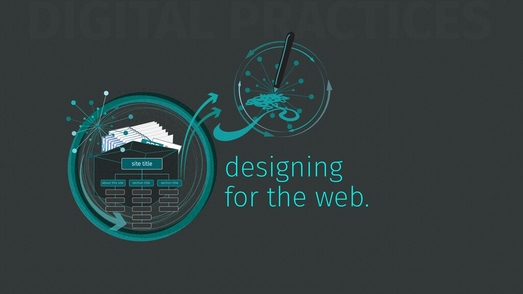 DIGITAL PRACTICES TEXT designing for the web.