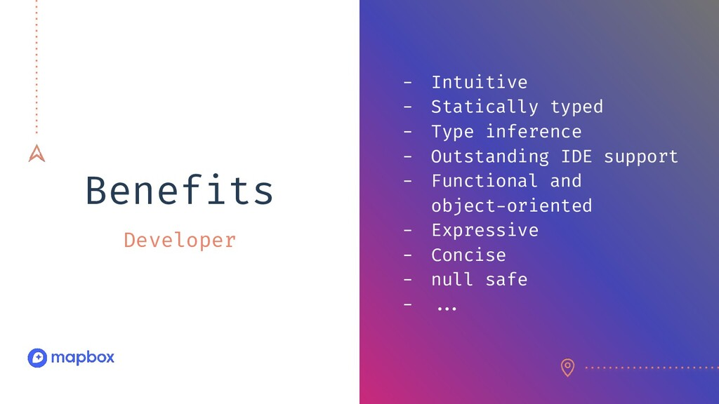 Benefits Developer - Intuitive - Statically typ...