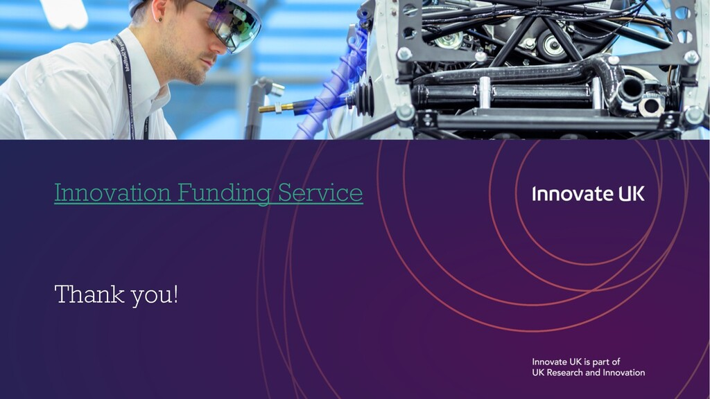 Innovation Funding Service Thank you!
