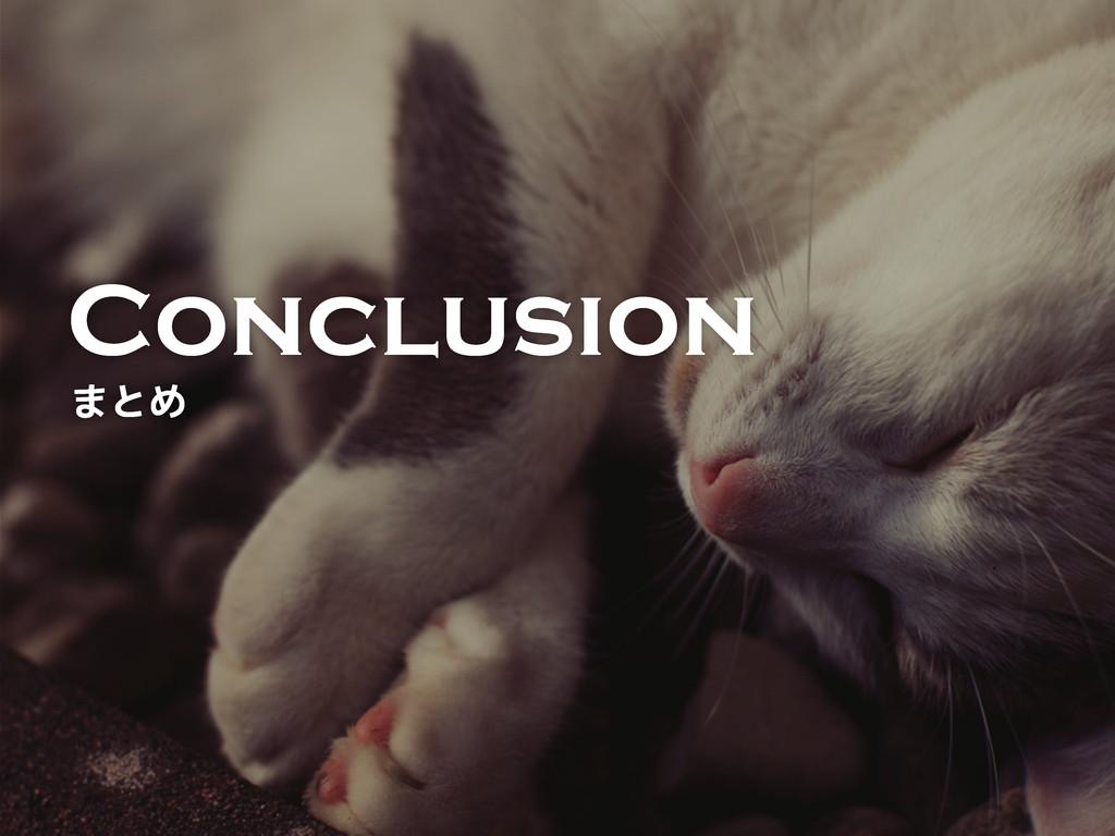 Conclusion ~r