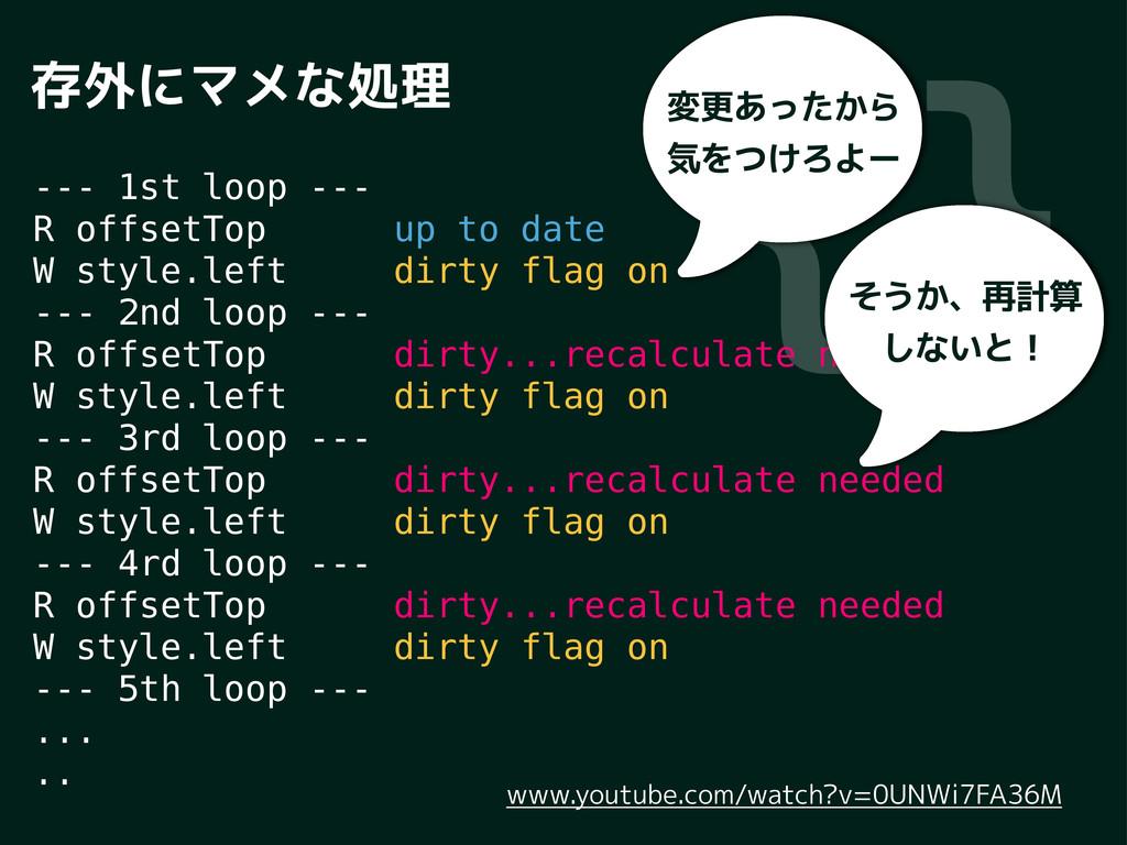 JK Ćāu¶¸tá'n --- 1st loop --- R offsetTop up to ...