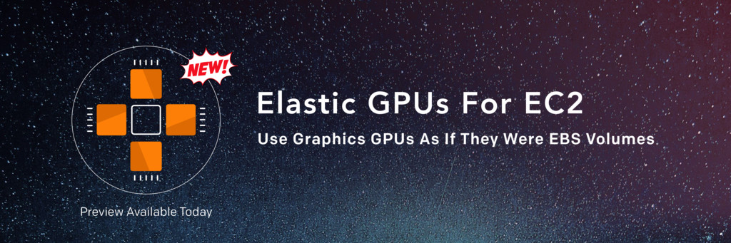 Elastic GPUs For EC2 Use Graphics GPUs As If Th...
