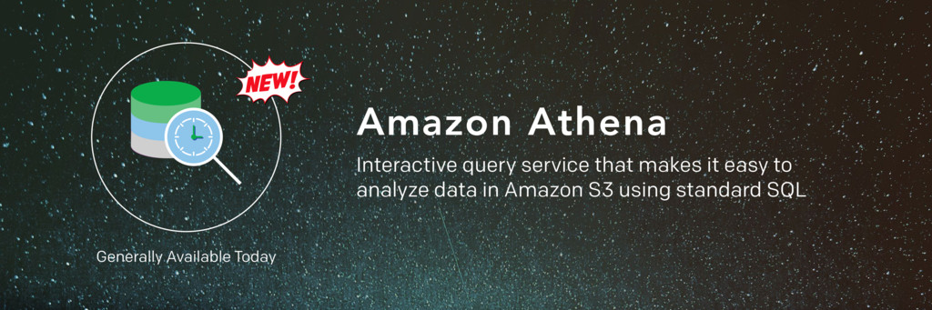 Amazon Athena Interactive query service that ma...