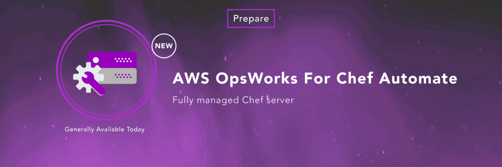 AWS OpsWorks For Chef Automate Fully managed Ch...