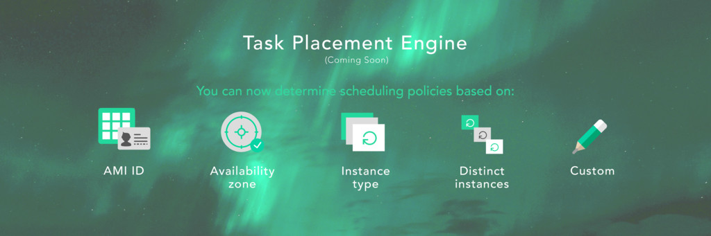 You can now determine scheduling policies based...