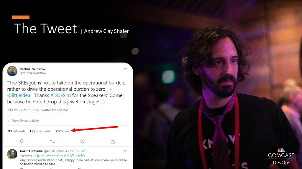 The Tweet | Andrew Clay Shafer