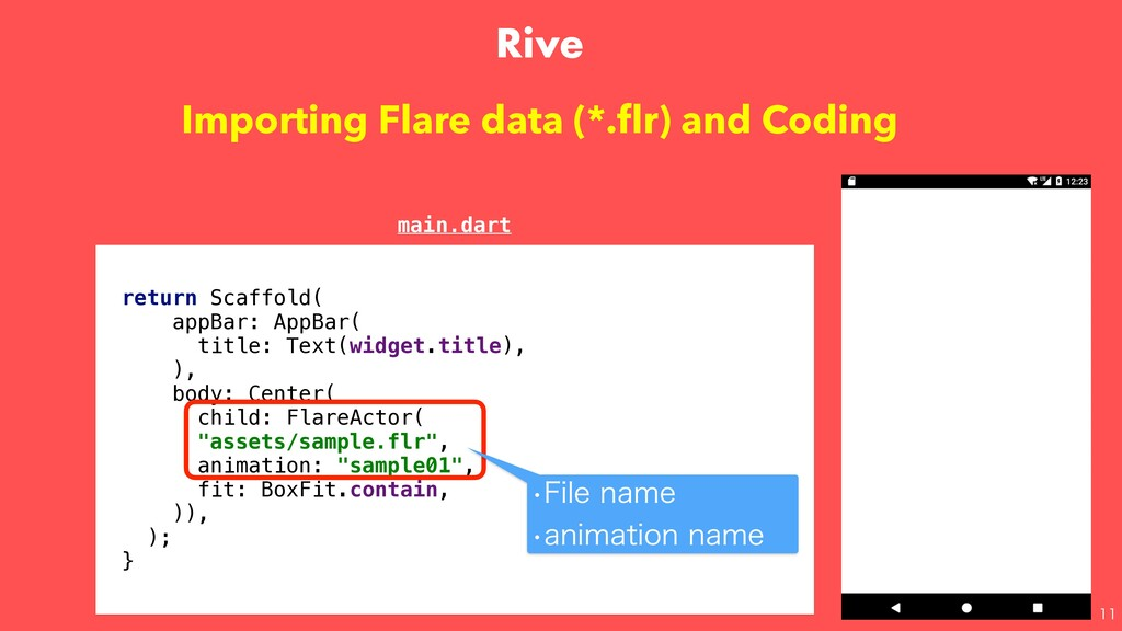 Importing Flare data (*.flr) and Coding retur...