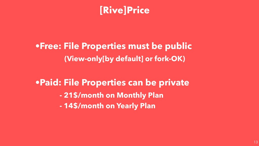 •Free: File Properties must be public (View-...