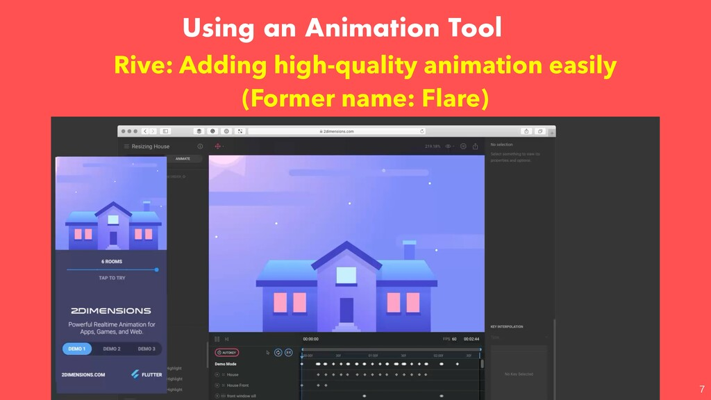 Using an Animation Tool  Rive: Adding high-qua...
