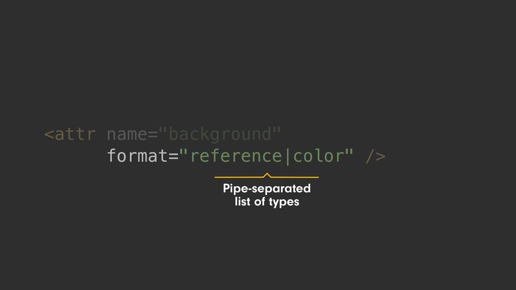 "<attr name=""background"" format=""reference|color..."