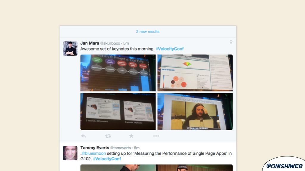 @onishiweb Twitter screenshot