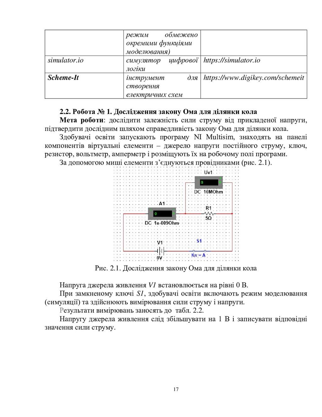 17 режим обмежено окремими функціями моделюванн...