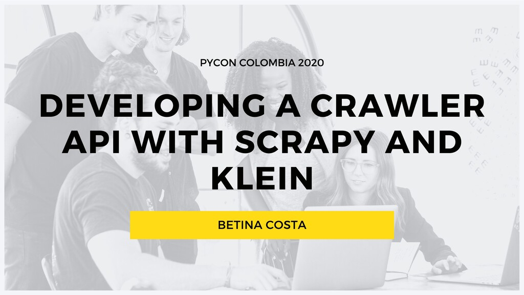 DEVELOPING A CRAWLER API WITH SCRAPY AND KLEIN ...
