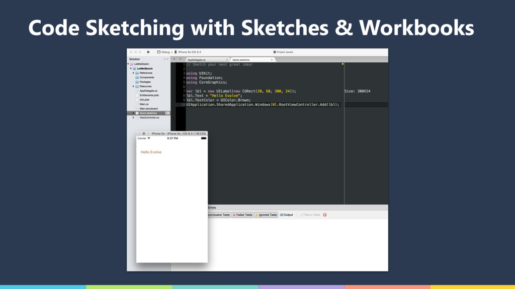 Code Sketching with Sketches & Workbooks