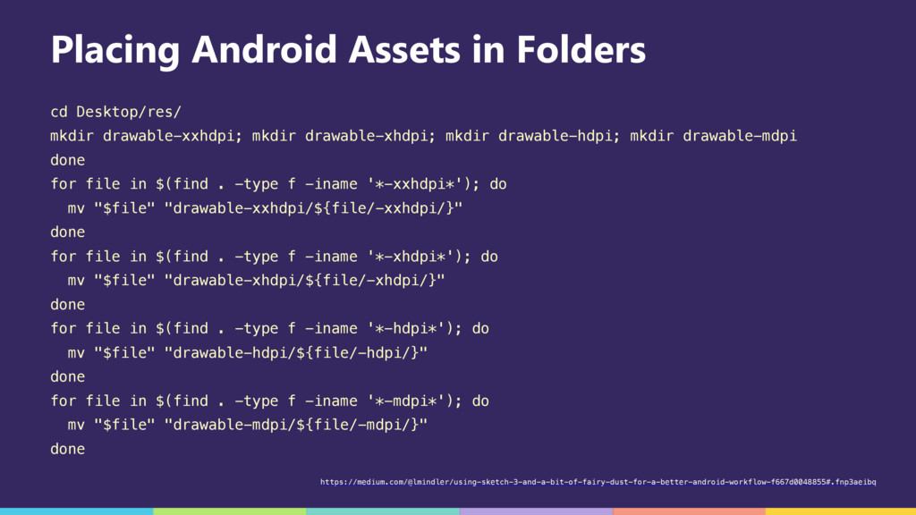 Placing Android Assets in Folders cd Desktop/re...