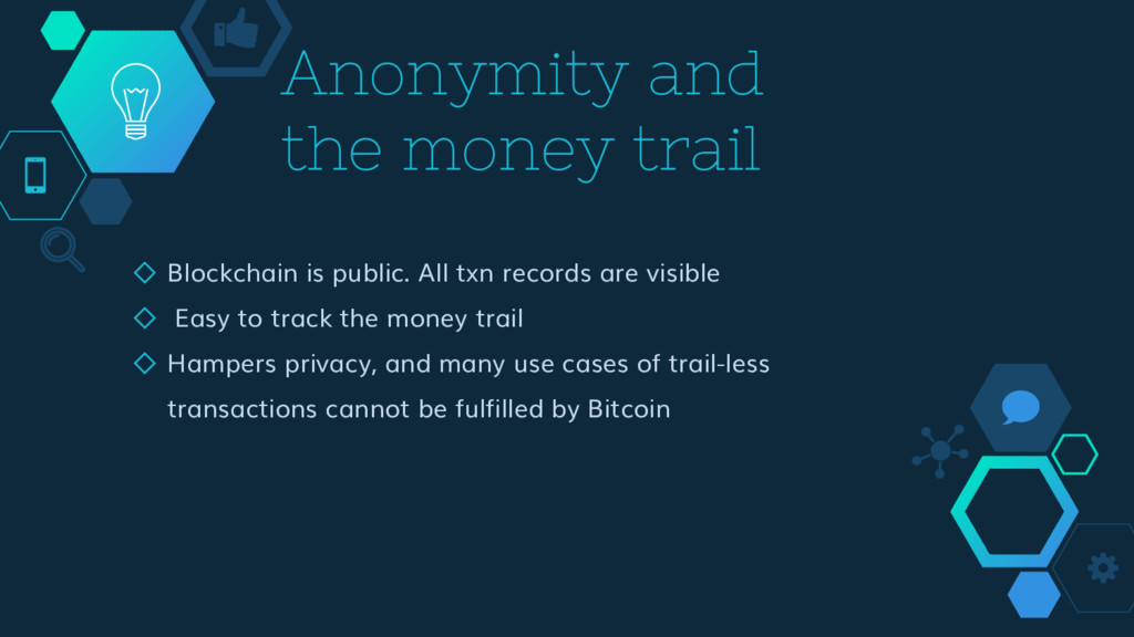Anonymity and the money trail ◇ Blockchain is p...