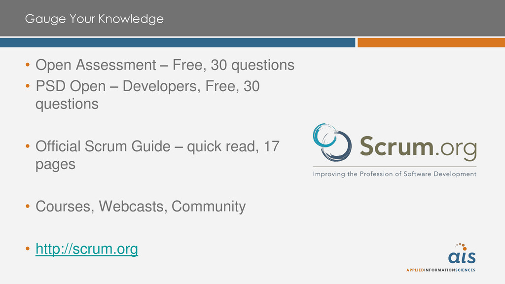 Gauge Your Knowledge • Open Assessment – Free, ...