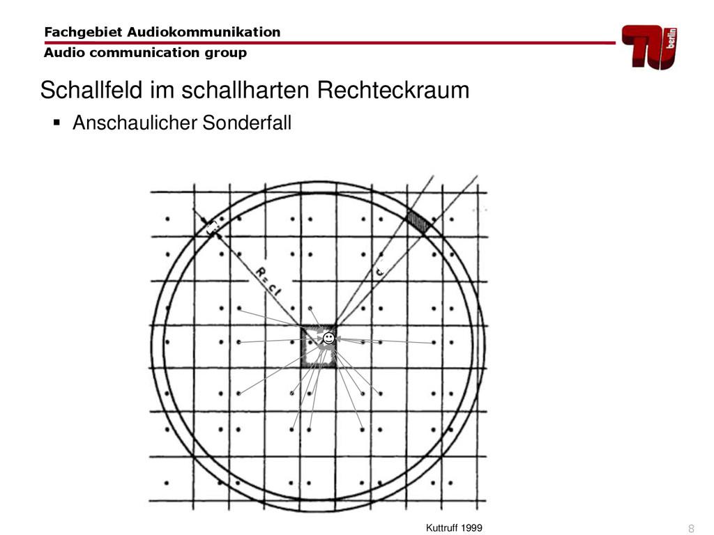 8  Anschaulicher Sonderfall Schallfeld im scha...