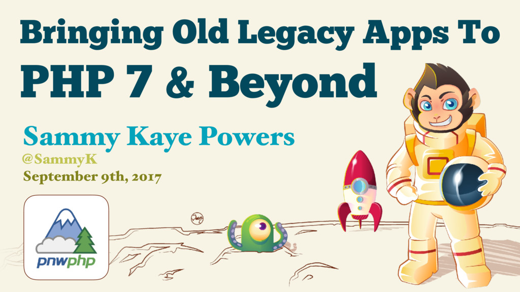 Bringing Old Legacy Apps To September 9th, 2017...