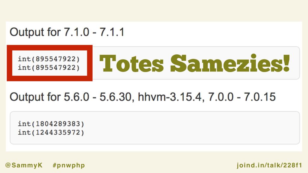 joind.in/talk/228f1 @SammyK #pnwphp Totes Samez...