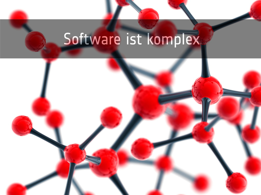 Software ist komplex