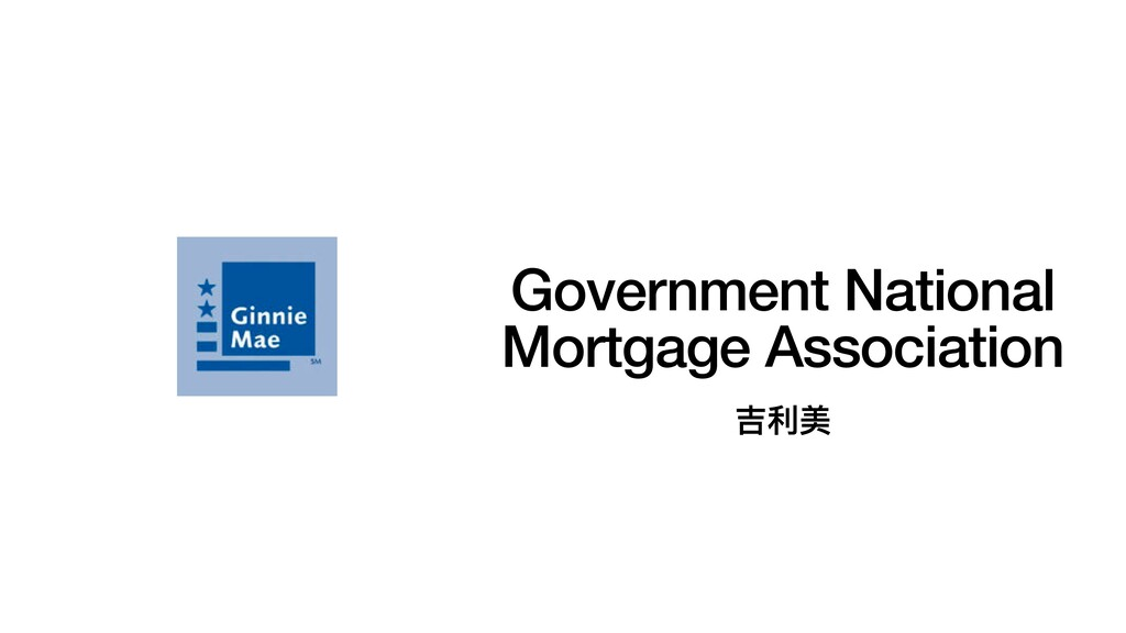 Government National Mortgage Association 吉利美