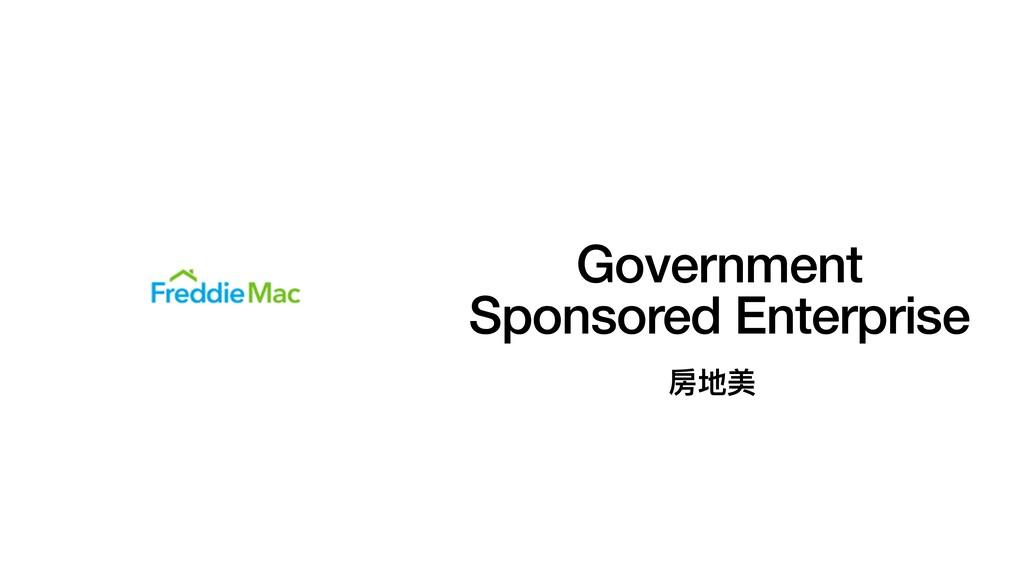 Government Sponsored Enterprise 房地美