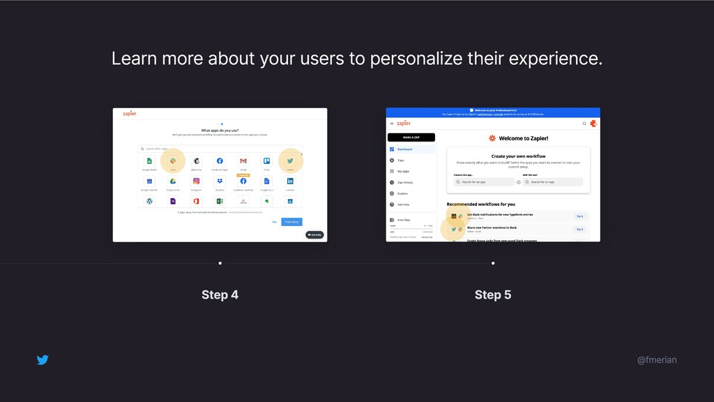 Learn more about your users to personalize thei...