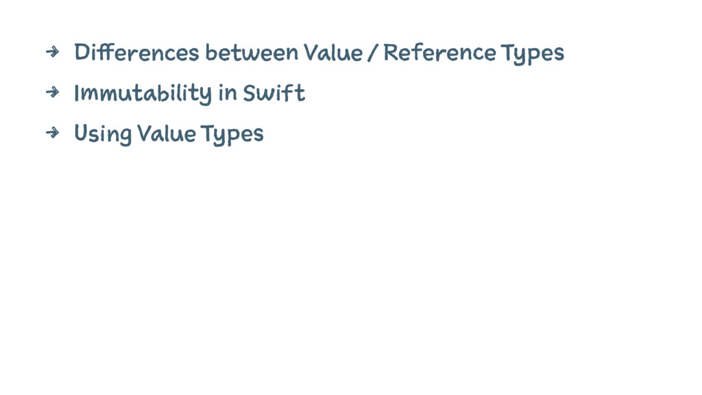 4 Differences between Value / Reference Types 4...