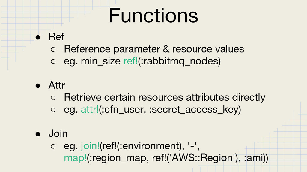Functions ● Ref ○ Reference parameter & resourc...