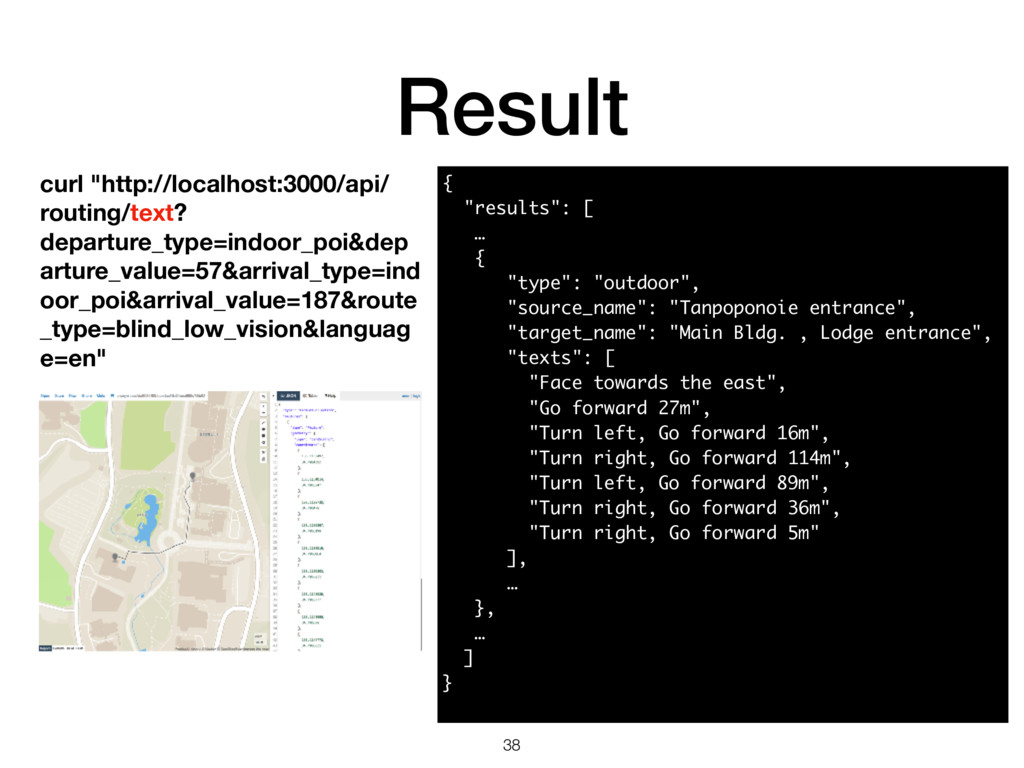 """Result 38 curl """"http://localhost:3000/api/ rout..."""