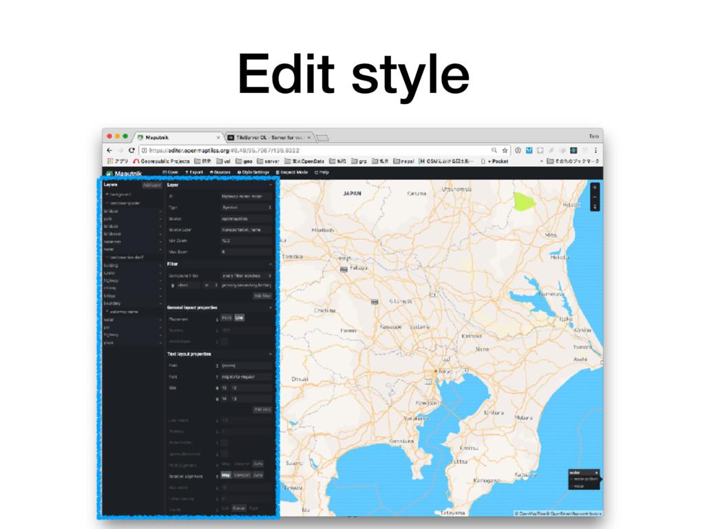 Edit style 58
