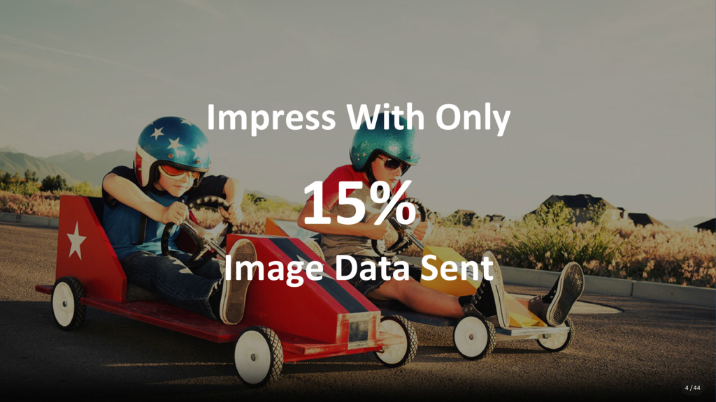 Impress With Only 15% Image Data Sent 4 / 44