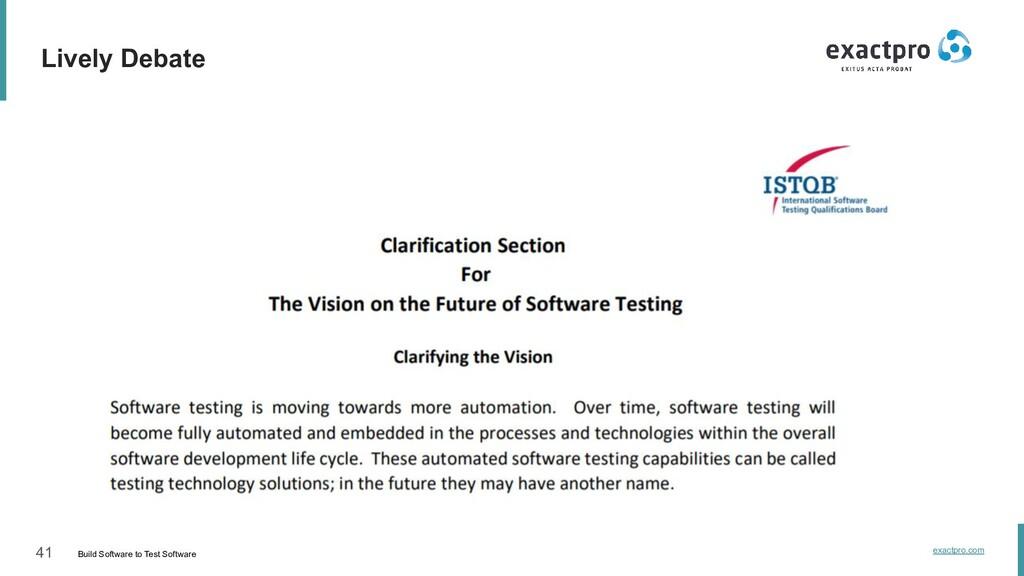 41 Build Software to Test Software exactpro.com...