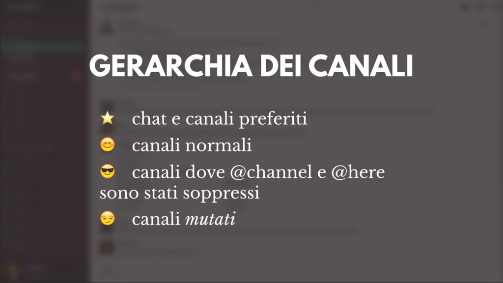 ⭐ chat e canali preferiti  canali normali  cana...