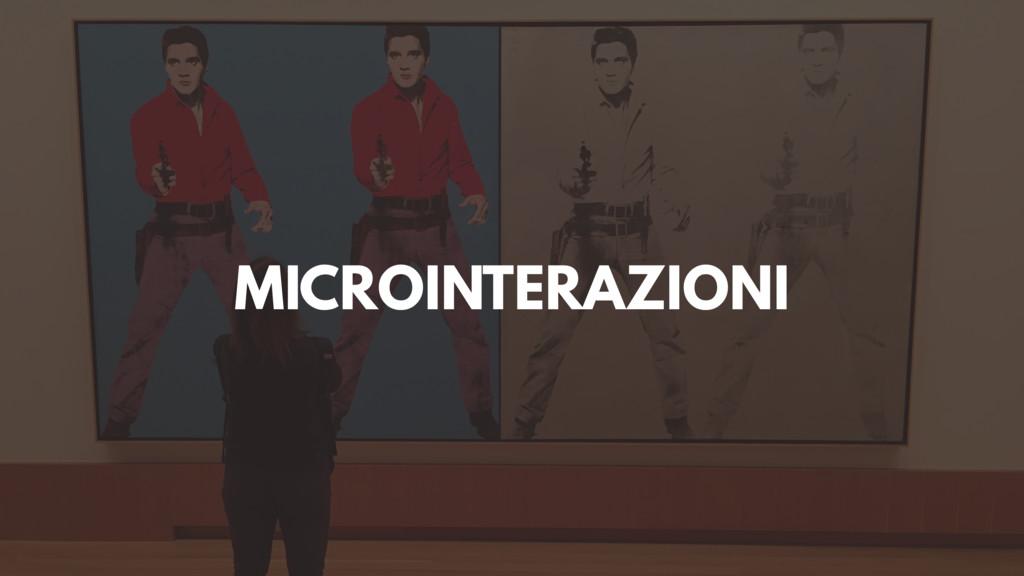 MICROINTERAZIONI