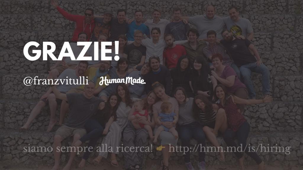 GRAZIE! @franzvitulli siamo sempre alla ricerca...