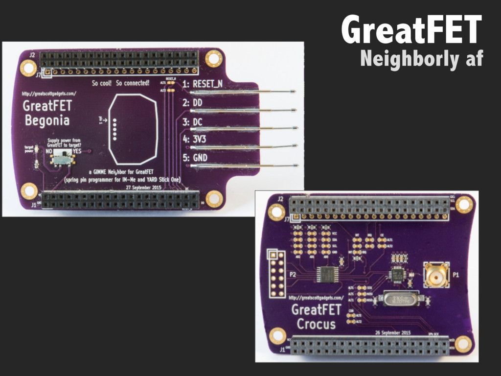 Neighborly af GreatFET