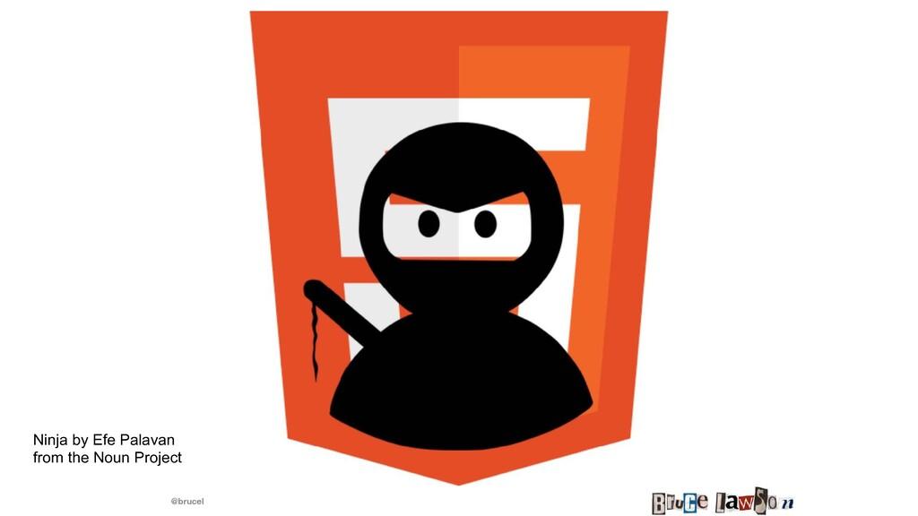 @brucel Ninja by Efe Palavan   from the Noun Pr...