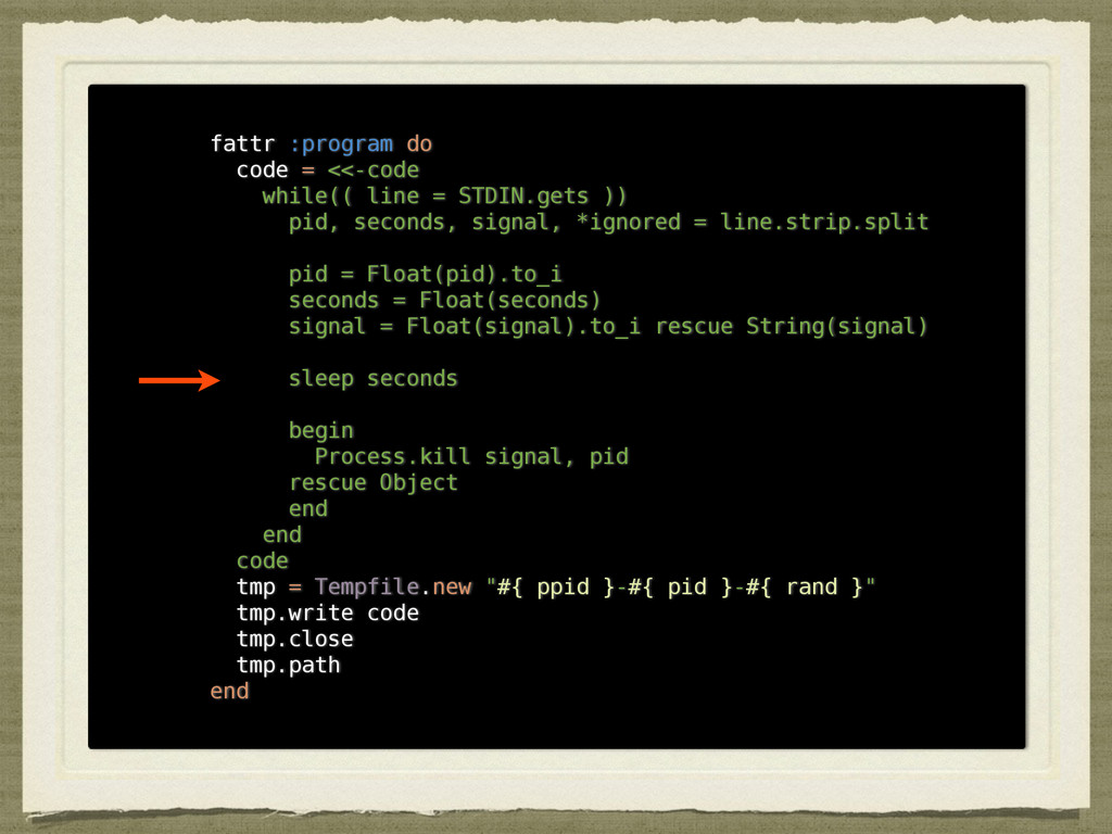 fattr :program do code = <<-code while(( line =...
