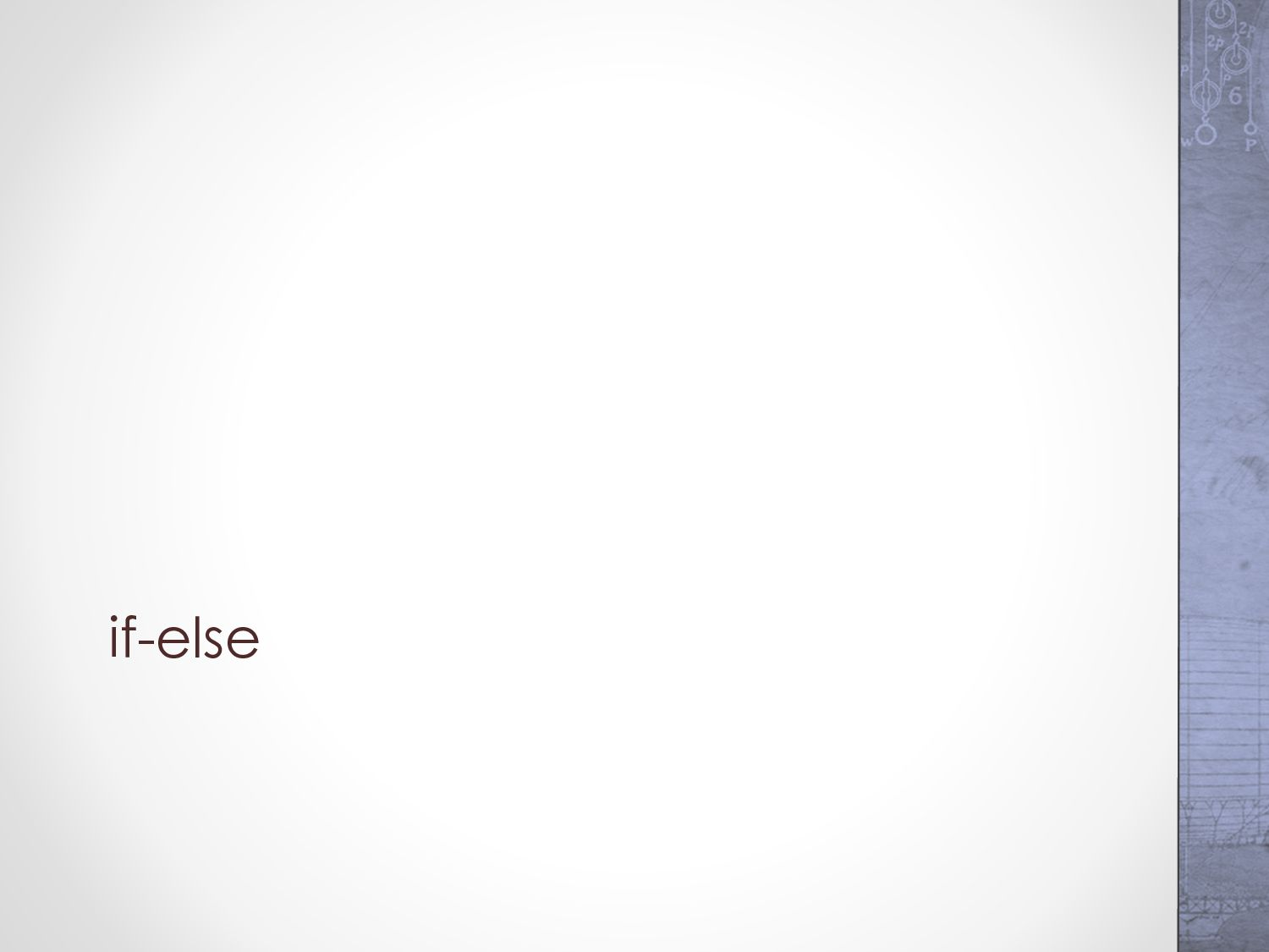 For the Midterm Exam