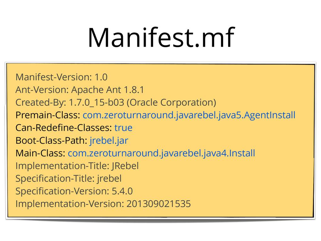 Manifest.mf Manifest-Version: 1.0 Ant-Version: ...