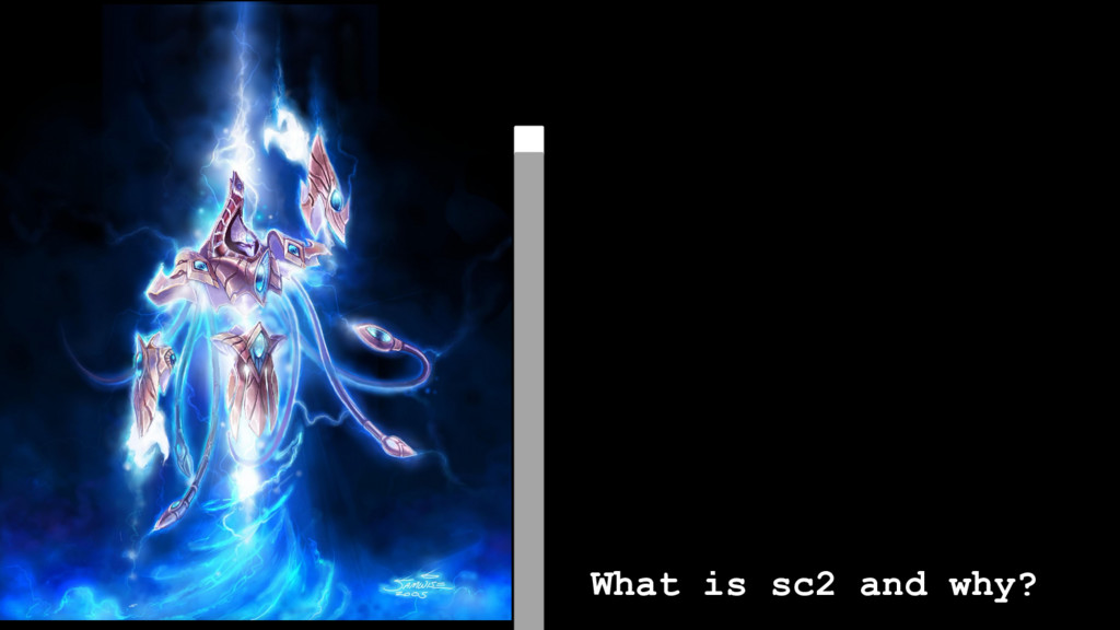 What is sc2 and why?