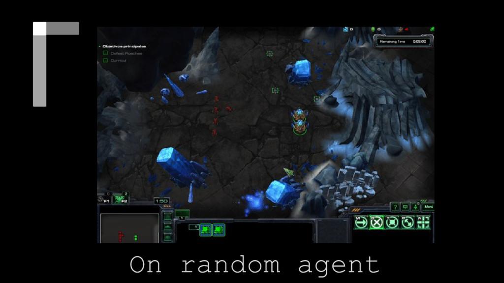 Diferent type of Nets On random agent